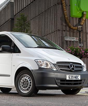 Mercedes-Benz Vito W639 Restyling