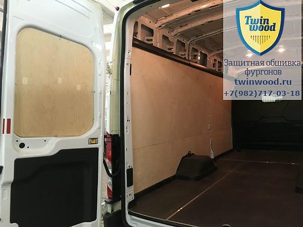 Обшивка пола, стен и дверей Ford Transit