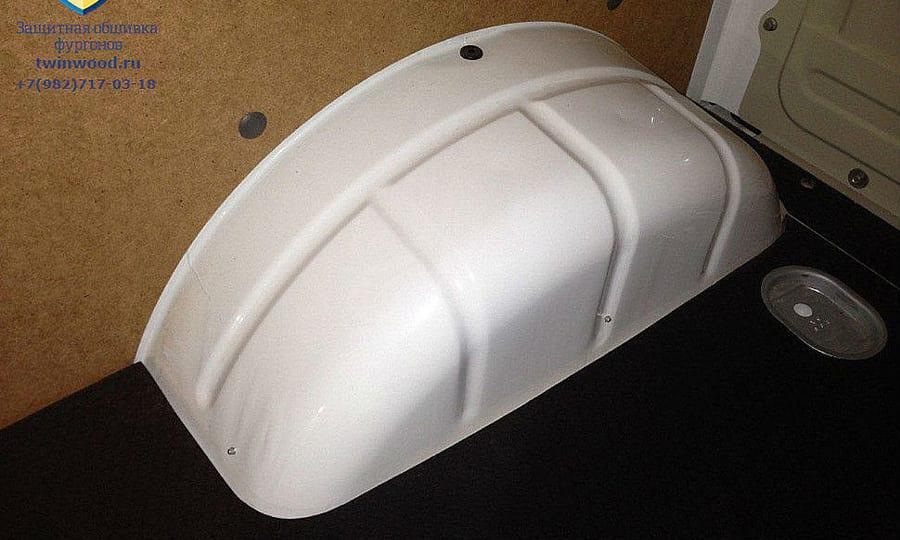 Обшивка фургона ГАЗ 2752 Соболь L1H1: Пол и стены