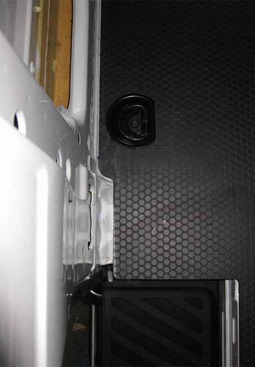 Volkswagen Crafter L3H2: Пол (вид сверху)