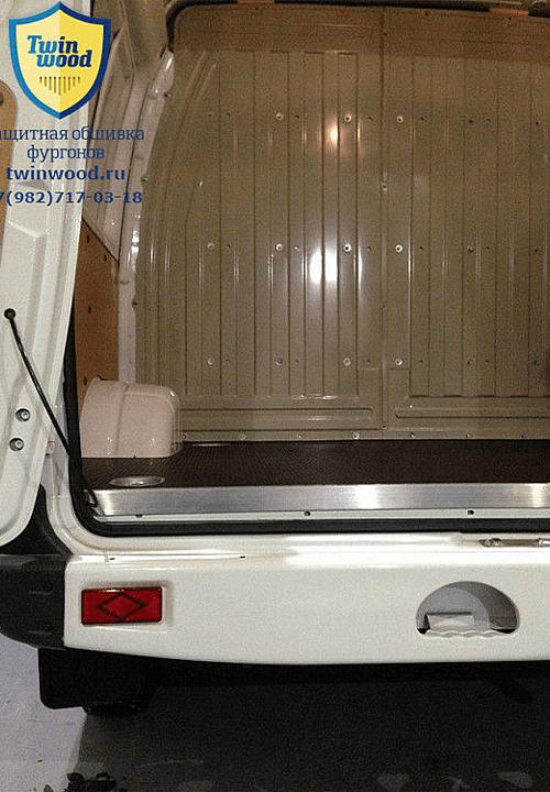 Обшивка фургона ГАЗ 2752 Соболь L1H1: Пол, задняя двери и стены