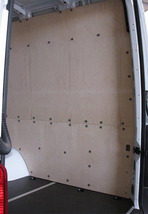 Обшивка фургона Mercedes-Benz Sprinter L4H2: Правая стена