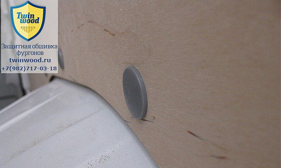 Citroen Jumper L3H3: Стена (крупный план)