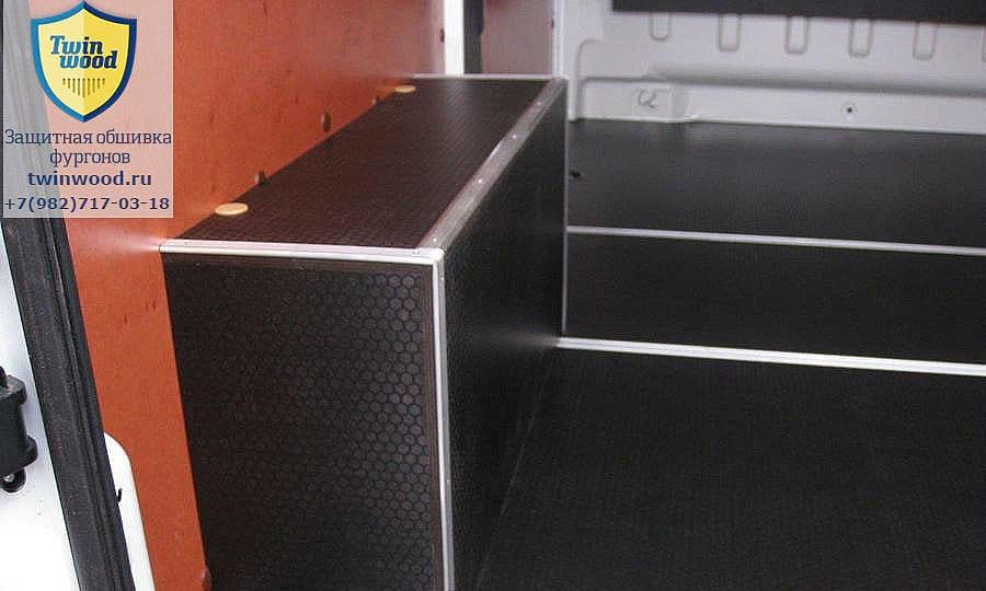Обшивка фургона Citroen Jumper L3H3: Стены, арки и пол
