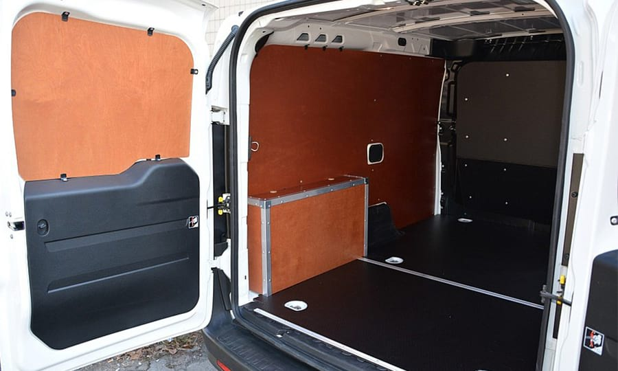 Обшивка фургона Fiat Doblo Cargo L1H1: Стены, арки, пол и двери