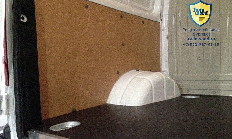 Обшивка фургона ГАЗ 2752 Соболь L1H1: Стены и пол