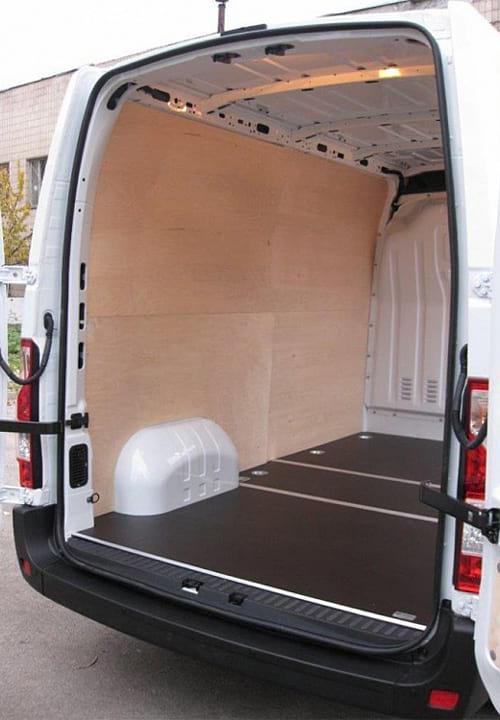 Обшивка фургона Renault Master L2H2: Стены и пол