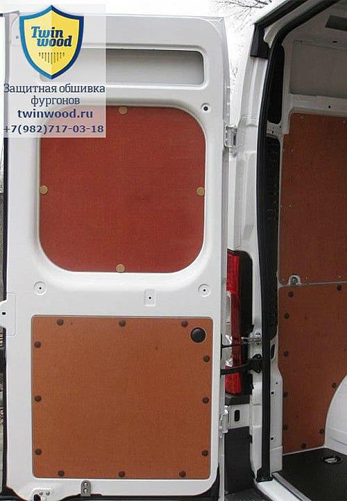 Обшивка фургона Citroen Jumper L3H3: Стены и задние двери