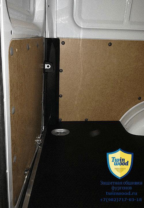 Обшивка фургона ГАЗ 2752 Соболь L1H1: Стены, задние двери и пол